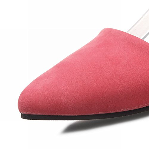 MissSaSa Donna Sottile col Tacco Ciccia Basso Elegante rosa cocomero