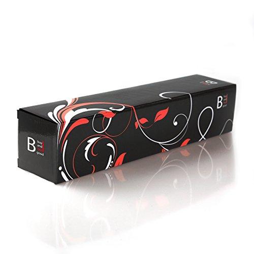 """NEU - NACHFOLGER des ORIGINALS von """"BUYANDFEELGOOD"""" - Bester Magic Wand Massager 7000-12000 U/min - JETZT mit EXTRA GESCHWINDIGKEITSREGELER - Massagegeräte Vibration im Massagestab - Erotik 2.0 für Rücken Schulter Nacken - Aufliegevibratoren für sie mit Klitoris-Stimmulation - Netzbetriebene Dildo Vibratoren für sie klein und schwarz"""