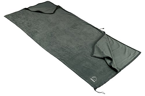 Nordisk B Fleeceinlett B Schlafsack Fleece, Dark Grey, One -