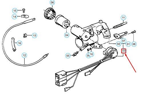 GTV PROJECT 5 E34 Zündschloss Schalter 61321384835 1384835 NEU Original -
