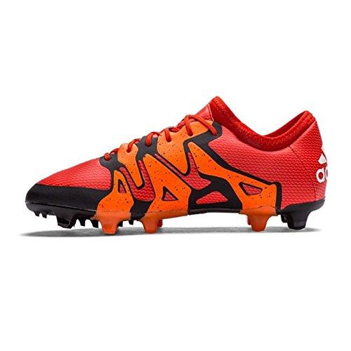 adidas X 15 1 Firm Ground   AG Junior Football Boots - Orange - 1