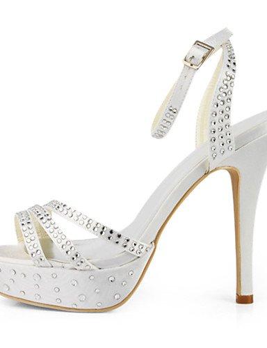 WSS 2016 Chaussures de mariage-Noir / Bleu / Jaune / Rose / Violet / Rouge / Blanc / Argent / Or / Beige / Amande-Mariage / Habillé / Soirée & 4in-4 3/4in-red