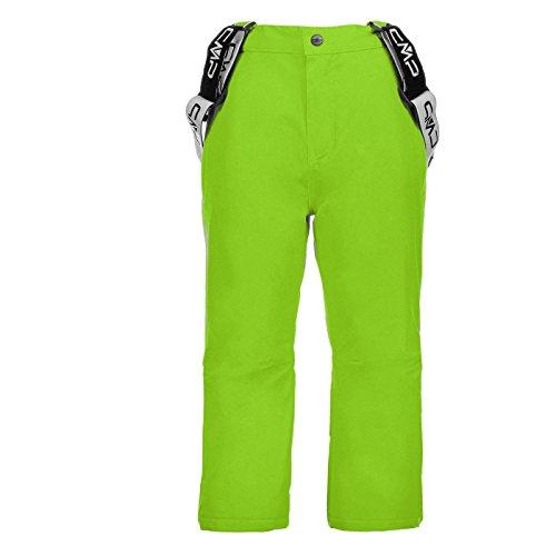 Skihose Tjorven Kinder CMP Lime Green Nero Gr-152 (Microfleece Hose Jungen)