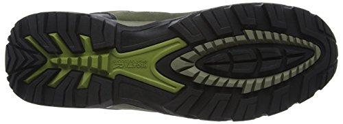 Regatta Holcombe Mid, Chaussures Bébé Marche Homme Vert (Graplf/Dkspr)