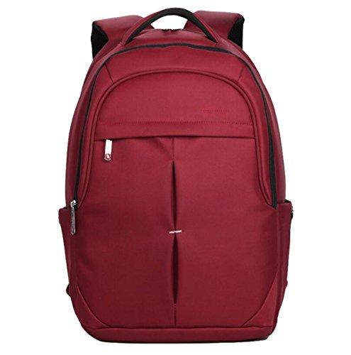 Umhängetasche Männliche Rucksack Einfache Tasche Reise Tasche Computer Tasche College Wind Lässig Wasserdicht Red