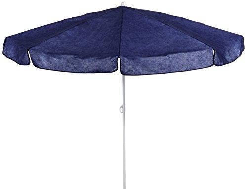 beo MM01 Sonnenschirm 180cm - Sombrilla para patio, color azul