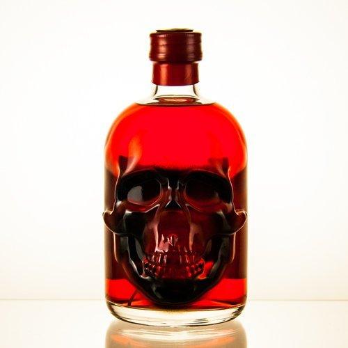 1 Flasche Roter Red Chili Absinth (0,5l) | Absynth Drink 55 Vol Alkohol und 35mg Thujon | Alkoholische Schnaps Geschenk-Idee für Männer