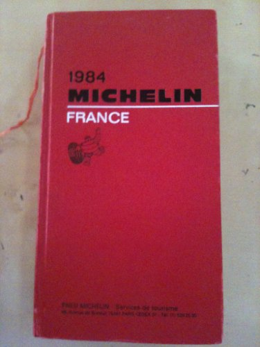 Michelin Red Guide: France, 1984