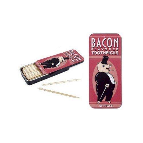 MIK Funshopping Zahnstocher mit Bacon Geschmack BACON TOOTHPICKS