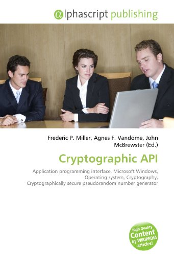 Cryptographic API