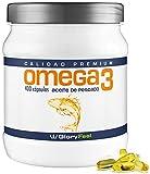 Omega 3 capsulas de 1000mg - 400 cápsulas de Omega 3 - Aceite de Pescado - Acidos Grasos Omega 3 EPA DHA - Calidad Alemana de GloryFeel