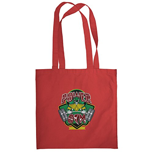 Stoffbeutel, rot (Roten Jungle Fury Power Ranger)