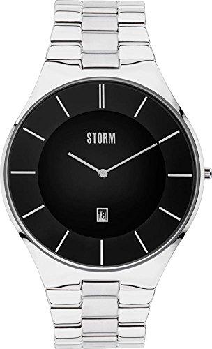 Storm London SLIM-X3 47304/BK Orologio da polso uomo piatto & leggero