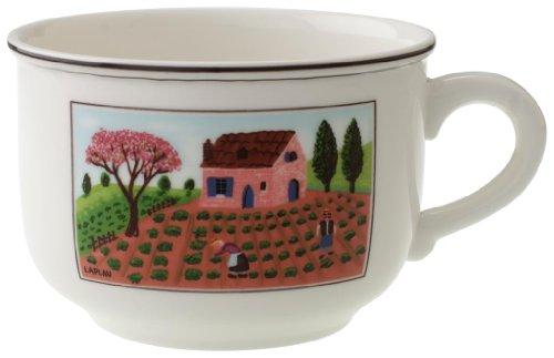 Villeroy & Boch 10-2337-1240 Tasse pour Petit-déjeuner 0,42 L Porcelaine Rouge 45,5 x 28 x 8,6 cm 1 Tasse
