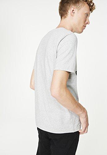 ARMEDANGELS Herren T-Shirt aus Bio-Baumwolle - James Ring of Koi - GOTS, ORGANIC, CERES-008 Grey Melange