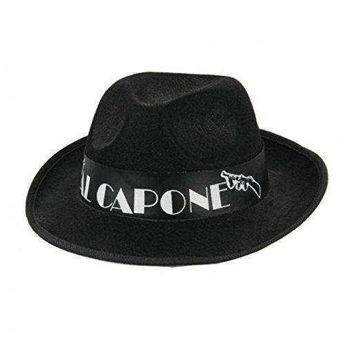 Schwarzer Hut Al Capone