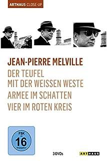 Jean-Pierre Melville - Arthaus Close-Up ( Der Teufel mit der weißen Weste / Armee im Schatten / Vier im roten Kreis ) [3 DVDs]
