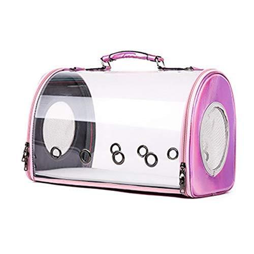 Boern Hundetasche Transporttasche Hundetasche: Hand- & Auto-Transporttasche für Haustiere bis 4 kg (Transporttasche Katze) Reise Dog Carrier Pink -