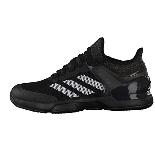 Adidas Adizero Chaussures de Tennis UBER Sonic 2 Clay Core Black/Ftwr White/Dgh Solid Grey