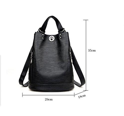 LAIDAYE Frau Dual-Use-Multifunktions-Anti-Diebstahl-Reisen Bucket Bag 1