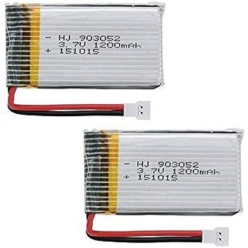 Creation® 1 PCS 3.7V 1200mAh Lipo Batteries pour Syma X5SW X5SC