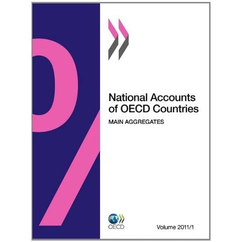 Comptes Nationaux des pays de l'Ocde, Volume 2011 Numéro 1