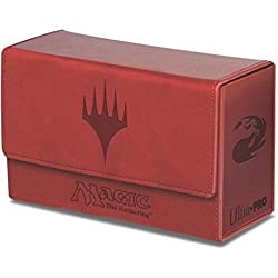 Ultra Pro Deck box mana rojo premium 200 cartas