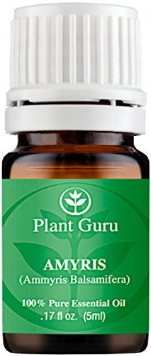 Amyris Essential Oil. 5 ml. 100% Pure, Undiluted, Therapeutic Grade. by Plant Guru par  Plant Guru