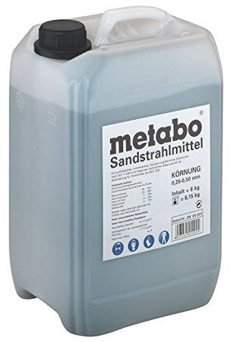 Metabo Sandstrahlmittel Körnung, 0,2 - 0,5 mm, 901064423