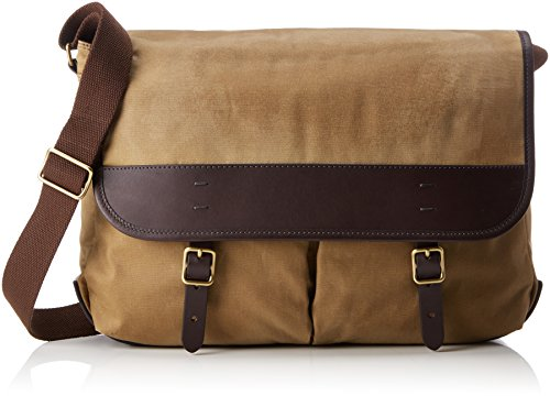 Fossil Canvas Taschen (Fossil Herren Herrentasche - Buckner Messenger Business Tasche, Braun (Brown), 8.26x30.48x40.64 cm)
