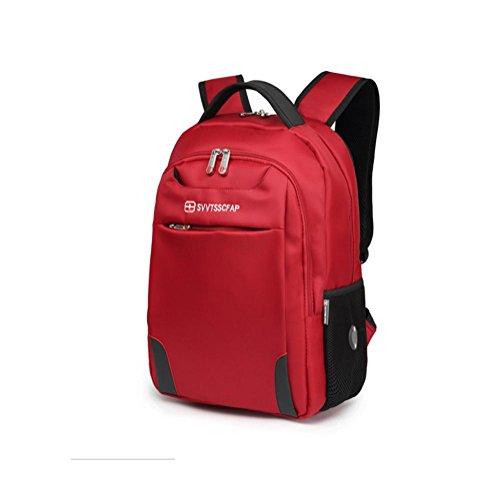 GHFDSJHSD Laptop-Rucksäcke 15 Zoll Mit Diebstahlsicherung, Red -