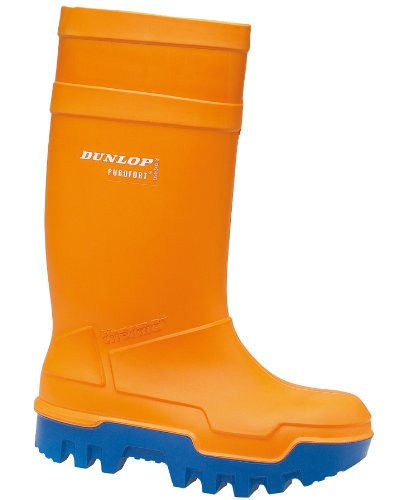 Dunlop C662343 Purofort Thermo + Full Safety Wellington Wellingtons PU - Orange