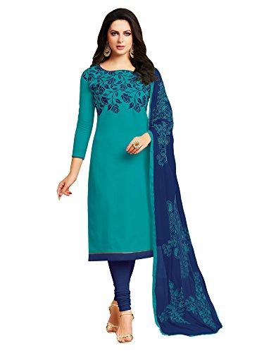 Mrinalika fashion Cotton Silk dress material for womens (5KMN704_salwar suit dress material_Free...