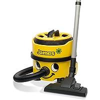 NUMATIC JVP180A1 James Vacuum Cleaner, 620 Watt, Bagged, Yellow/Black