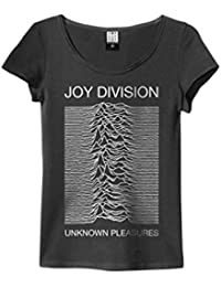 Joy Division 'Unknown Pleasures' Womens T-Shirt - Amplified Clothing