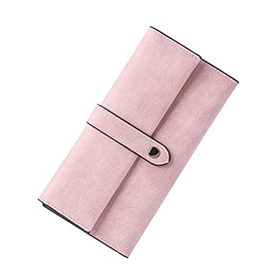 ZLR Mme portefeuille Fashion Crack Retro Long Section Wallet Portefeuille en cuir retro Ladies Thin
