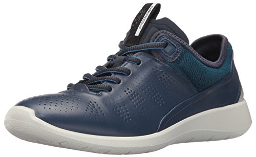 Ecco Soft 5, Baskets Basses Femme Bleu (50357True Navy/Poseidon-Black)