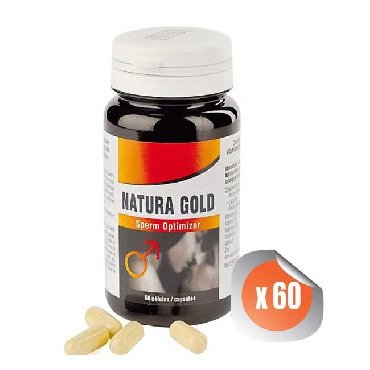 Natura Gold Sperm Optimizer 60 Gélules