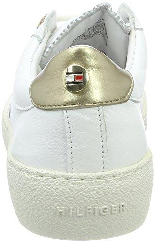 Tommy Hilfiger S1285uzie 2a4, Scarpe da Ginnastica Basse Donna Bianco (White)