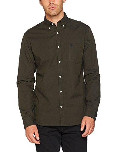 SELECTED HOMME Herren Businesshemd Shhcollect Shirt Ls R Noos Grün (Forest Night)