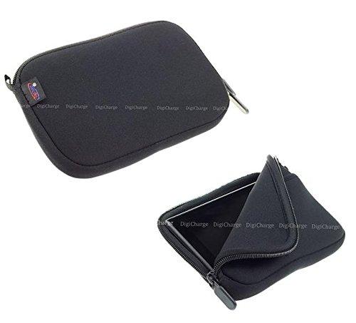 Digicharge® 6.1\'\' Zoll Schwarz Navibag Tasche für Garmin Drive 61 LMT-S 60LM DriveSmart 65 61LMT-S 60LM LMT-S Nuvi 68LM 67LM 65LM 66LM 66LMT 2659LM 2699LMT-D Camper 660LMT-D 770LMT-D