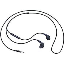 Samsung EO-EG920 - Auriculares in-ear oficiales para  Galaxy S6  (micrófono, 3.5 mm, cable de 1.2 m), color negro