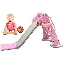 Mhxzkhl Plegable para Niños, Juguetes De Plástico para Niños Baloncesto Interior Al Aire Libre Área