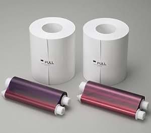 Papier CK-D768 format 15x20 - 400 tirages pour imprimante CP-D707DW et CP-D70DW + Portefeuille Bambou 10x15 (pack de 250)