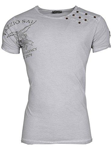 Tazzio T-Shirt mit Nieten 4051 Beige