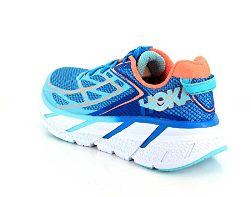 Hoka One One W Clifton 3 Blue Jewel Neon Coral Blue Jewel / Neon Coral