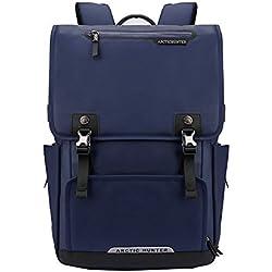 Arctic Hunter Notebook Tasche Laptop Rücksack Passend für bis zu 15.6 Zoll Laptops Blau 0072