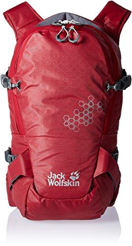 Jack Wolfskin Wintersport Tagesrucksack/Daypack White Rock 16 Pro Pack Dark red
