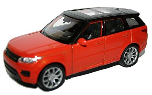 Range Rover Sportwagen Modell von Welly 1:32 Skala Sammler Auto Modell (Orange)