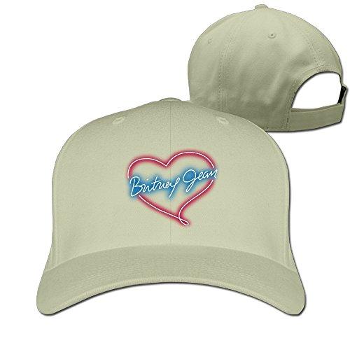 Hittings Britney Spears Adjustable Hunting Peak Hat/Cap Natural -